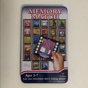 FREE with purchase over 25$ - Memory Match game